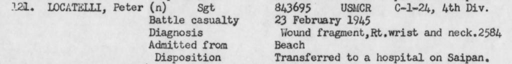 Report of the USS Hendry (APA-18), February 1945.