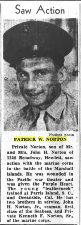 Nassau Daily Review-Star, 14 August 1944.