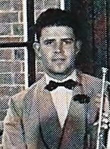 Walter Olin at Dartmouth, 1943.