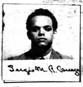 Sergio Careaga in 1938, when declaring his intent to become a US citizen.