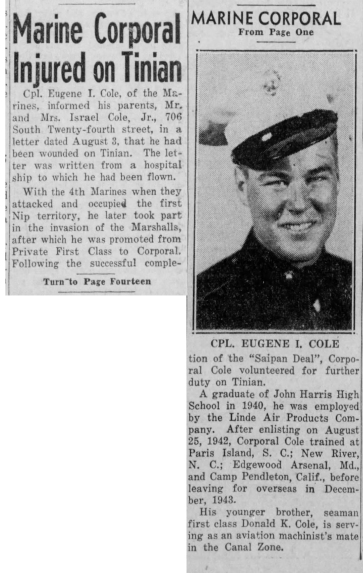 Harrisburg Evening News, 19 August 1944
