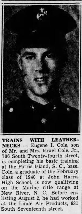Harrisburg Telegraph, 30 September 1942.