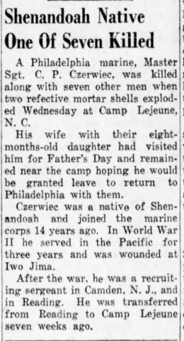 The Plain Speaker (Hazelton, PA) 22 June 1951.