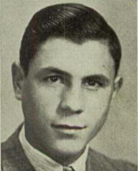Peter Gulla at Hempstead High School, 1940.