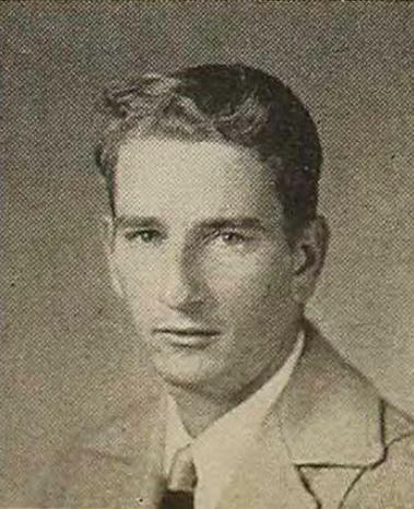 James Goldman as a freshman at Loyola University, 1947. He earned a degree in pharmacy in 1950.