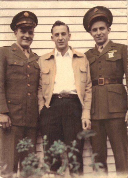 Jay (right) with brothers Joseph and Leon. Photo from Ancestry.com