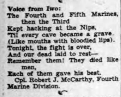 The Buffalo Courier-Express, 1945