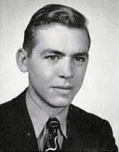 Gann as a junior at the University of New Mexico, 1941.