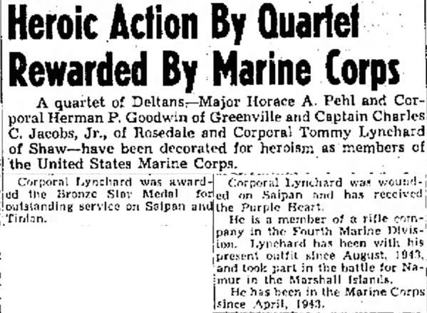 The Delta Democrat-Times (Greenville, MS)  26 February 1945