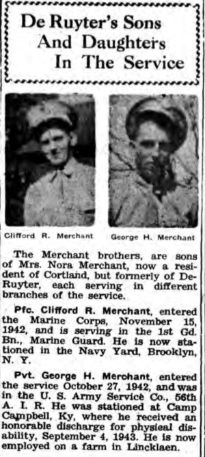 The De Ruyter Gleaner, 18 May 1944.