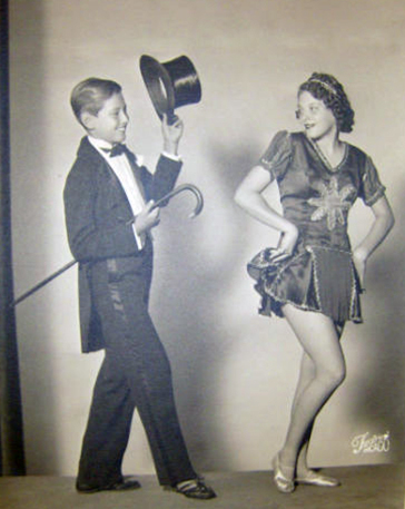 Armand and his sister Jeanie were heavily involved in youth theater.