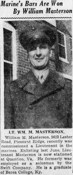 Cincinnati Enquirer, 29 December 1942.