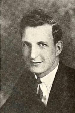 Bill Masterson, Berea College, 1934.
