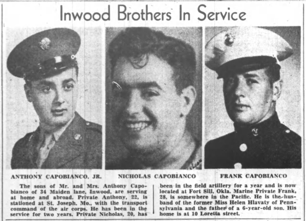 The Freeport (NY) Daily Review, 14 September 1944.