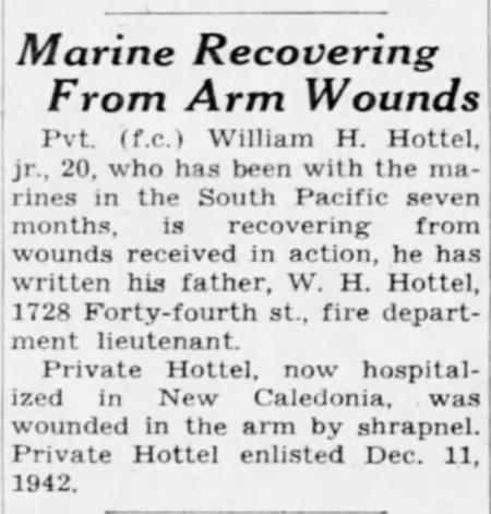 The Des Moines Register, 27 July 1944.