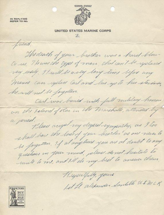 Santilli letter p2