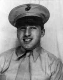 A real live Marine, 1943.