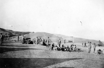 The Camp Pendleton boondocks were expansive and sparse – ideal for practicing larger unit maneuvers.