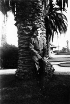 John Pope in California, 1943.