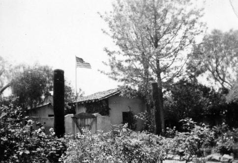 Mission buildings.