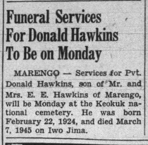 The Iowa City Press-Citizen, 2 October 1948.