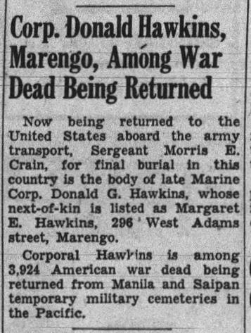 The Iowa City Press-Citizen, 23 September 1948.