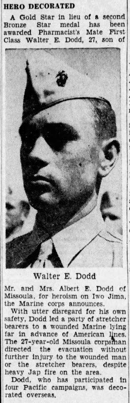 The Missoulan, 24 August 1945.