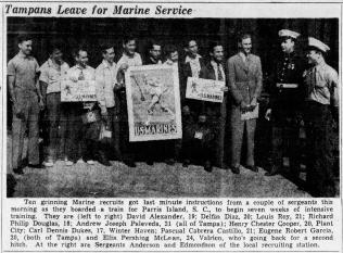 The Tampa Tribune, 4 May 1942.