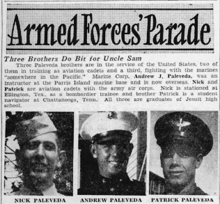 The Tampa Tribune, 10 March 1944.