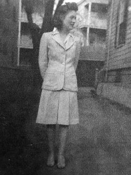 Lorraine Richardson in May, 1944...