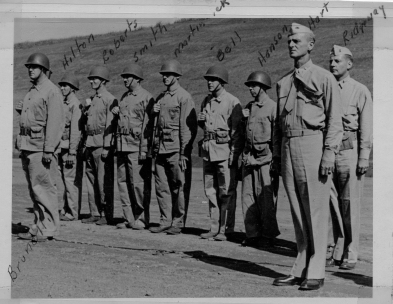 Command staff of the 24th Marines at Camp Maui.