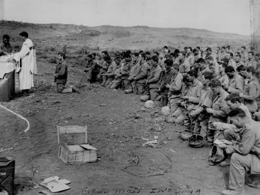 Field mass on Iwo.