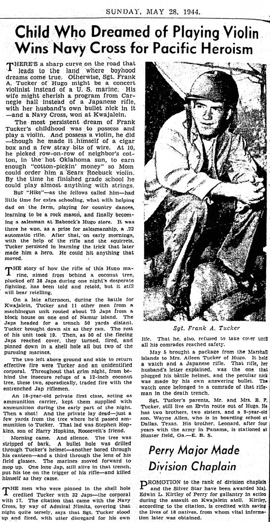 The Daily Oklahoman, 28 May 1944