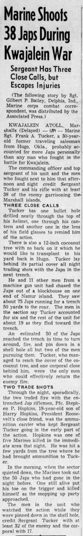 The San Bernardino County Sun, 1 March 1944.